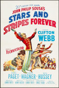 """Movie Posters:Musical, Stars and Stripes Forever (20th Century Fox, 1952). One Sheet (27.25"""" X 41""""). Musical.. ..."""