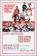 """Movie Posters:Western, The Good, the Bad and the Ugly (United Artists, 1968). One Sheet (27"""" X 41""""). Western.. ..."""