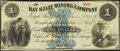 Obsoletes By State:Michigan, Eagle River, MI- Bay State Mining Company $1 June 30, 1866. ...