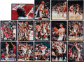 Basketball Collectibles:Photos, 1992 Olympic Games USA Basketball Dream Team Signed Photographs Lotof 13 - Fischer Collection. ...