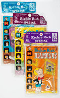 Bronze Age (1970-1979):Cartoon Character, Richie Rich Related Harvey-Pax Comics File Copy Short Box Group (Harvey, 1972-75) Condition: Average NM-....