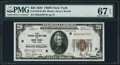 Small Size:Federal Reserve Bank Notes, Fr. 1870-B $20 1929 Federal Reserve Bank Note. PMG Superb Gem Unc 67 EPQ.. ...