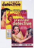 Magazines:Crime, Inside Detective Group of 10 (Inside Detective Publishing, 1935-43)Condition: Average VG/FN.... (Total: 10 Items)