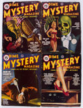 Pulps:Horror, Dime Mystery Magazine Group of 8 (Popular, 1936-48) Condition:Average VG-.... (Total: 8 Items)