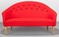 Furniture : Continental, Kerstin Horlin-Holmquist (Swedish, 1925-1997). ParadiseSofa, circa 1958, Nordiska Kompaniet. Wool upholstery, birch.32...