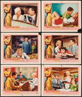 """Movie Posters:Bad Girl, Wicked Woman (United Artists, 1953). Lobby Cards (6) (11"""" X 14"""").Bad Girl.. ... (Total: 6 Items)"""