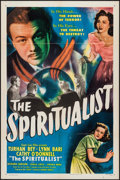 "Movie Posters:Fantasy, The Spiritualist (Eagle Lion, 1948). One Sheet (27"" X 41"") &Lobby Card Set of 8 (11"" X 14""). Fantasy.. ... (Total: 9 Items)"