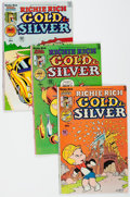 Bronze Age (1970-1979):Cartoon Character, Richie Rich Gold and Silver #2-42 File Copy Near Complete RangeShort Box Group (Harvey, 1975-82) Condition: Average NM-....