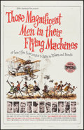 "Movie Posters:Adventure, Those Magnificent Men in Their Flying Machines (20th Century Fox,1965). Roadshow One Sheet & One Sheet (27"" X 41"") 70mm Tod...(Total: 2 Items)"