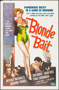 "Blonde Bait (Associated Film, 1956). One Sheet (27"" X 41""). Bad Girl"