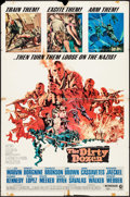 """Movie Posters:War, The Dirty Dozen & Other Lot (MGM, 1967). One Sheets (3) (27"""" X41""""). War.. ... (Total: 3 Items)"""