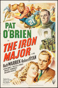 "Movie Posters:Sports, The Iron Major (RKO, 1943). One Sheet (27"" X 41"") Style A. Sports.. ..."