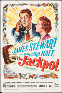 """The Jackpot (20th Century Fox, 1950). Autographed One Sheet (27"""" X 41""""). Comedy"""