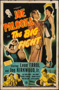 "Movie Posters:Sports, Joe Palooka in the Big Fight (Monogram, 1949). One Sheet (27"" X 41""). Sports.. ..."