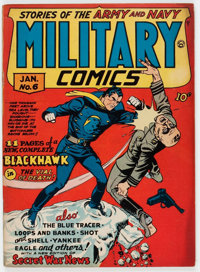 Military Comics #6 (Quality, 1942) Condition: FN+