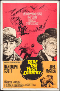 "Ride the High Country (MGM, 1962). One Sheet (27"" X 41""). Western"