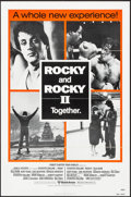 "Movie Posters:Sports, Rocky/Rocky II Combo (United Artists, R-1980). One Sheet (27"" X 41"") Orange Style. Sports.. ..."