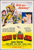 "Movie Posters:War, Sands of Iwo Jima (Republic, 1950). Australian One Sheet (27"" X40""). War.. ..."