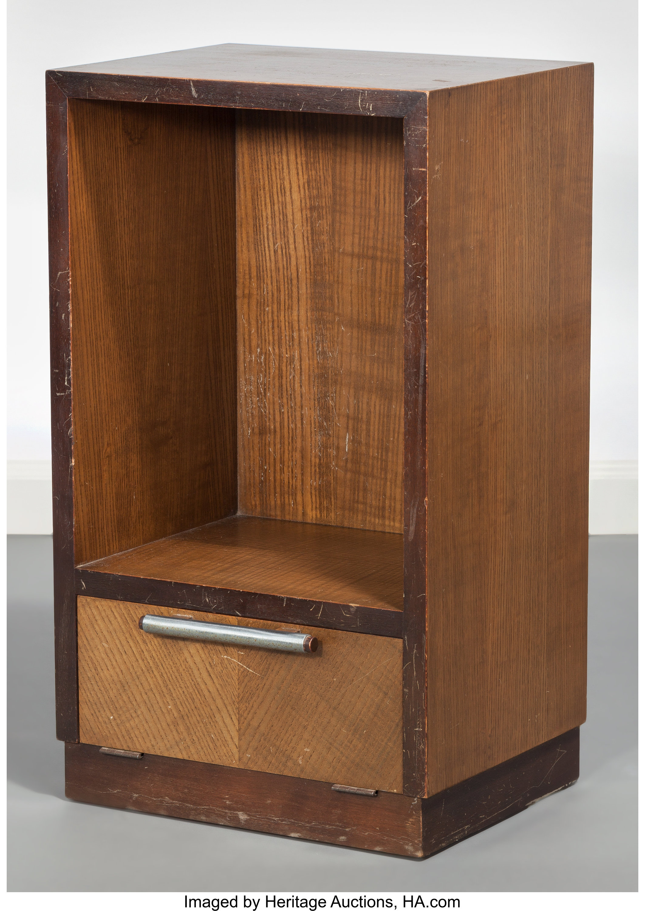 Gilbert Rohde American 1894 1944 Bedside Table 1933 Design Lot 60041 Heritage Auctions