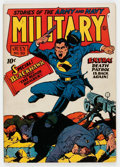 Golden Age (1938-1955):War, Military Comics #20 (Quality, 1943) Condition: FN+....