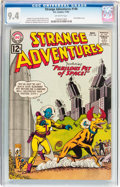 Silver Age (1956-1969):Science Fiction, Strange Adventures #146 (DC, 1962) CGC NM 9.4 Off-white pages....