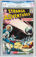 Silver Age (1956-1969):Science Fiction, Strange Adventures #150 (DC, 1963) CGC NM 9.4 Off-white to whitepages....