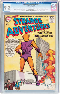 Strange Adventures #153 (DC, 1963) CGC NM- 9.2 Off-white to white pages