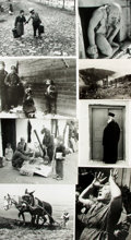 Books:Prints & Leaves, [Greece]. Archive of Approximately 35 Photographs and PrintsRelating to Greece and Its People. ...