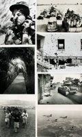 Books:Prints & Leaves, [Israel]. Archive of Approximately 110 Photographs and Press PrintsRelating to Israel....