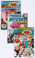 Silver Age (1956-1969):Horror, House of Mystery Group of 65 (DC, 1961-67) Condition: AverageVG.... (Total: 65 Comic Books)