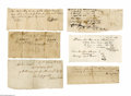 Autographs:Statesmen, Collection of Nineteenth Century Documents. Offered here are 22assorted documents. Most are from the first half of the cent...(Total: 22 items)