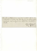 """Autographs:Military Figures, Silas Casey Partial Autograph Letter Signed """"Silas Casey, Maj. Gen."""" A 7.3"""" x 2.3"""", partial handwritten page, signed i..."""