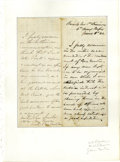 Autographs:Military Figures, Autograph Letter Signed by three Union Army Generals. This lot features a one-page document, handwritten on the obverse and ...
