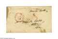 Autographs:Military Figures, Confederate General Howell Cobb Free Franked Envelope signed in theupper right corner and postmarked Washington City D.C. 5...
