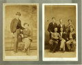 """Photography:CDVs, Two """"General Lee's Boys"""" CDV's. Two CDV images with Bodue & Miley backmarks, Lexington, Virginia, 1867. After the War Betwe... (Total: 2 items)"""