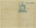 """Autographs:Military Figures, Collection of Civil War Soldiers' Letters Comprises 32 ALsS, varying in length from 1p to 4p, 5"""" x 8"""" to 8"""" x 12"""", 1861-1864... (Total: 47 items)"""