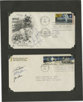 Autographs:Celebrities, Armstrong Signed Moon Landing First Day Cover. A very desirableApollo 11 First Day Cover, postmarked on September 9, 1969, ...(Total: 2 )