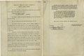 Autographs:Inventors, Thomas Alva Edison Document Signed With Rare Full Version ofSignature. The typed minutes of a Board of Directors meeting of...