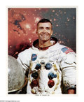 "Autographs:Celebrities, Fred Haise Photograph Inscribed and Signed ""To Henry- BestWishes, Fred Haise Apollo 13."" This 8"" x 10"", colorphotograp..."