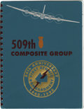 """Autographs:Military Figures, 509th Composite Group Commemorative Booklet Signed by 11 Airmen Who Flew Over Hiroshima or Nagasaki """"Commemorative Booklet/5..."""
