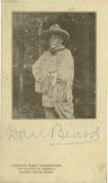 Autographs:Celebrities, Large Lot of Prominent American Autographs. An important anddiverse group assembled primarily in the 1920s and 1930s by Ewi...