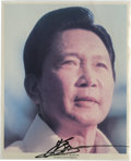 Autographs:Statesmen, World Leaders Autographed Photos - A Remarkable Collection. Overfifty autographs of foreign heads of state and important le...