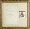 "Autographs:Non-American, French King Louis XIV Document Signed. One page, 22.5"" x 21.0"",February 12, 1710. A manuscript pay warrant directing the Ro..."