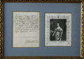 "Autographs:Non-American, Queen Henrietta Maria Autograph Letter Signed. One page, 6"" x 8"",1626, to Cardinal Richelieu. Henrietta Maria, wife of Brit..."