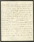 Autographs:Non-American, Queen Victoria Writes to the King of the Two Sicilies Less Than AWeek after Becoming Queen HRH Queen Alexandrina Victoria ...