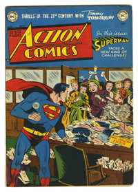 Action Comics #147 (DC, 1950) Condition: VG+. Wayne Boring cover. Art by Boring, Curt Swan, Henry Boltinoff, and Ed Smal...