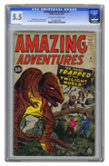 Silver Age (1956-1969):Horror, Amazing Adventures #3 (Marvel, 1961) CGC FN- 5.5 Off-white to whitepages. Cover by Jack Kirby. Art by Kirby, Dick Ayers, an...