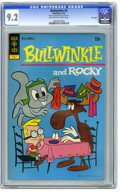 Bronze Age (1970-1979):Cartoon Character, Bullwinkle #4 File Copy (Gold Key, 1972) CGC NM- 9.2 Off-white towhite pages. Overstreet 2005 NM- 9.2 value = $70. CGC cens...