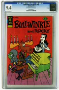 Bronze Age (1970-1979):Cartoon Character, Bullwinkle #14 File Copy (Gold Key, 1976) CGC NM 9.4 Off-white towhite pages. Overstreet 2005 NM- 9.2 value = $30. CGC cens...