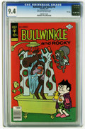 Bronze Age (1970-1979):Cartoon Character, Bullwinkle #16 File Copy (Gold Key, 1977) CGC NM 9.4 Off-white towhite pages. Overstreet 2005 NM- 9.2 value = $30. CGC cens...